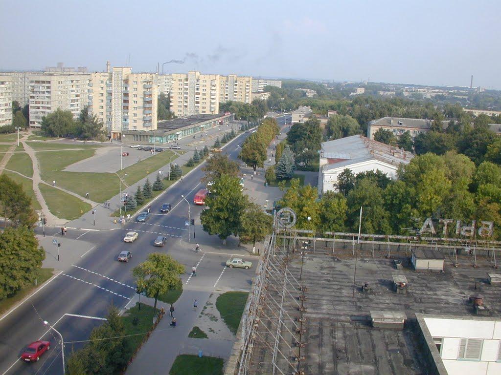 Ул. Советская... (Фото со знания почты), Речица