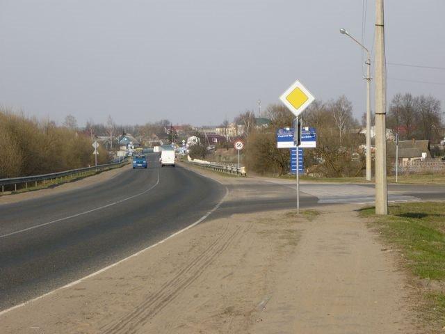 Rogachev поворот на ул. Бобруйскую, Рогачев