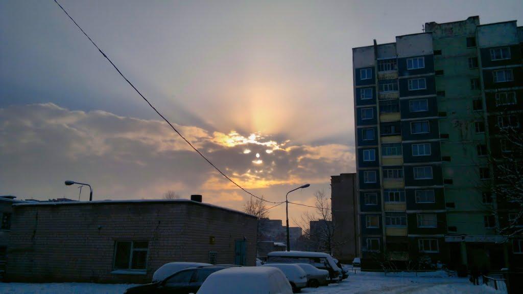 облака как лицо( Рогачёв ) 31.12.2010, Рогачев