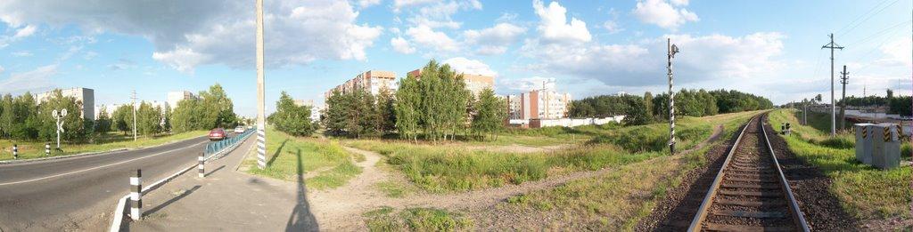 Rail crossing, Светлогорск