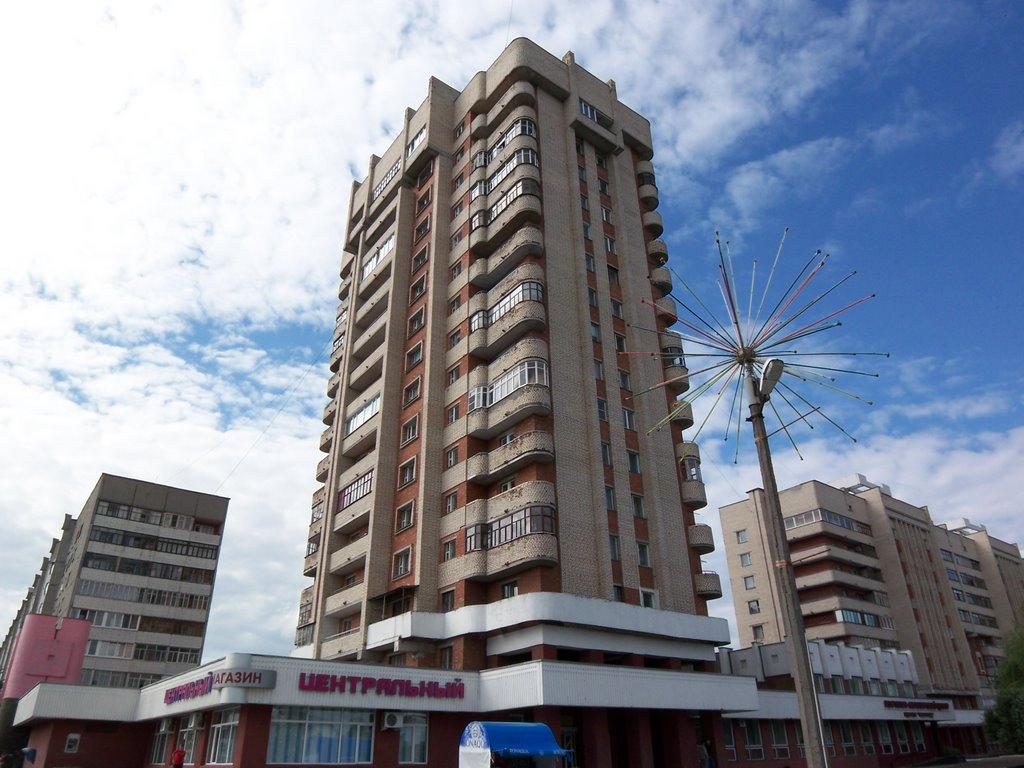 Local skyscraper, Светлогорск