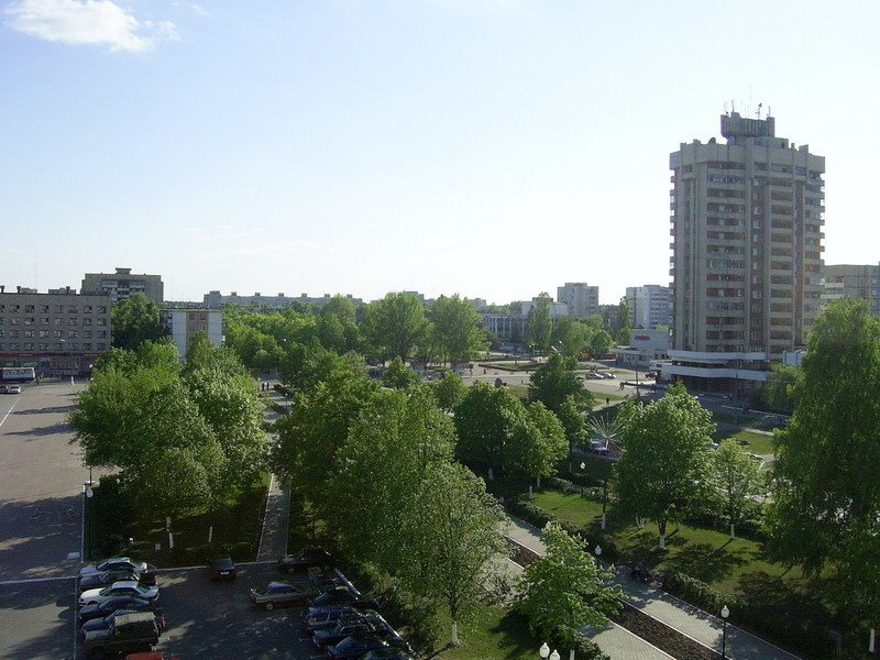 Central square, Светлогорск