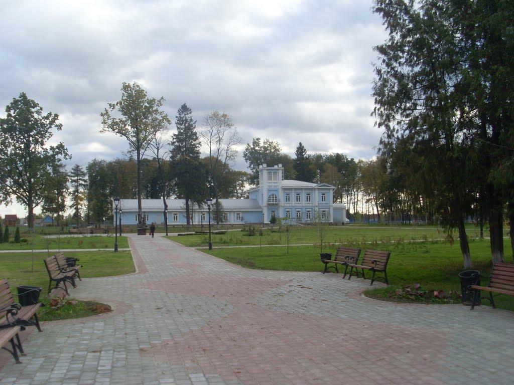 Бывшая усадьба Пашкевичей, Хойники