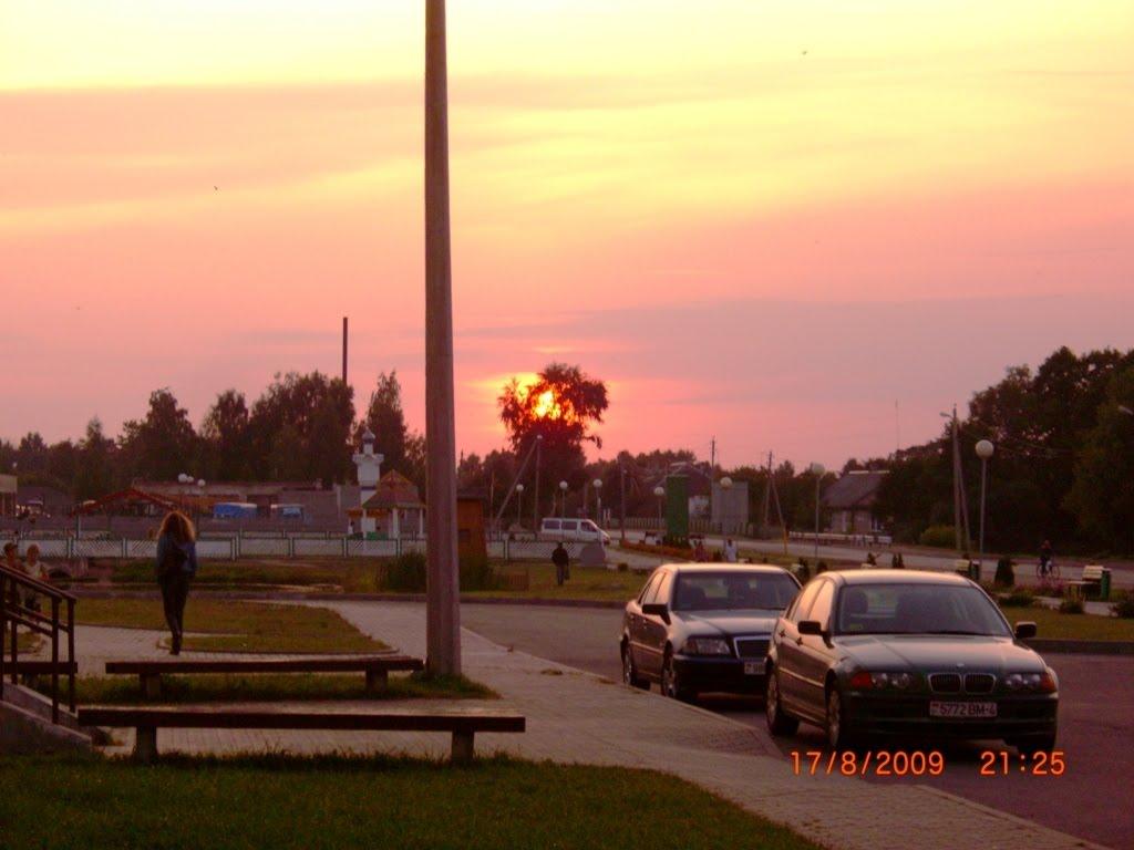 Закат, Дятлово