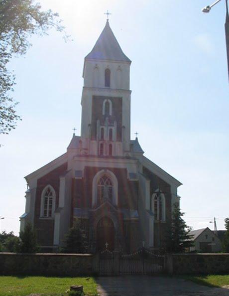 Вялiкая Бераставiца, касцёл Праабражэння Гасподняга (1912), Vyalikaya Berastavitsa, Roman Transfiguration church (1912), Большая Берестовица