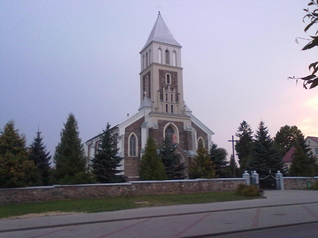 Костёл Большая Берестовица, Большая Берестовица