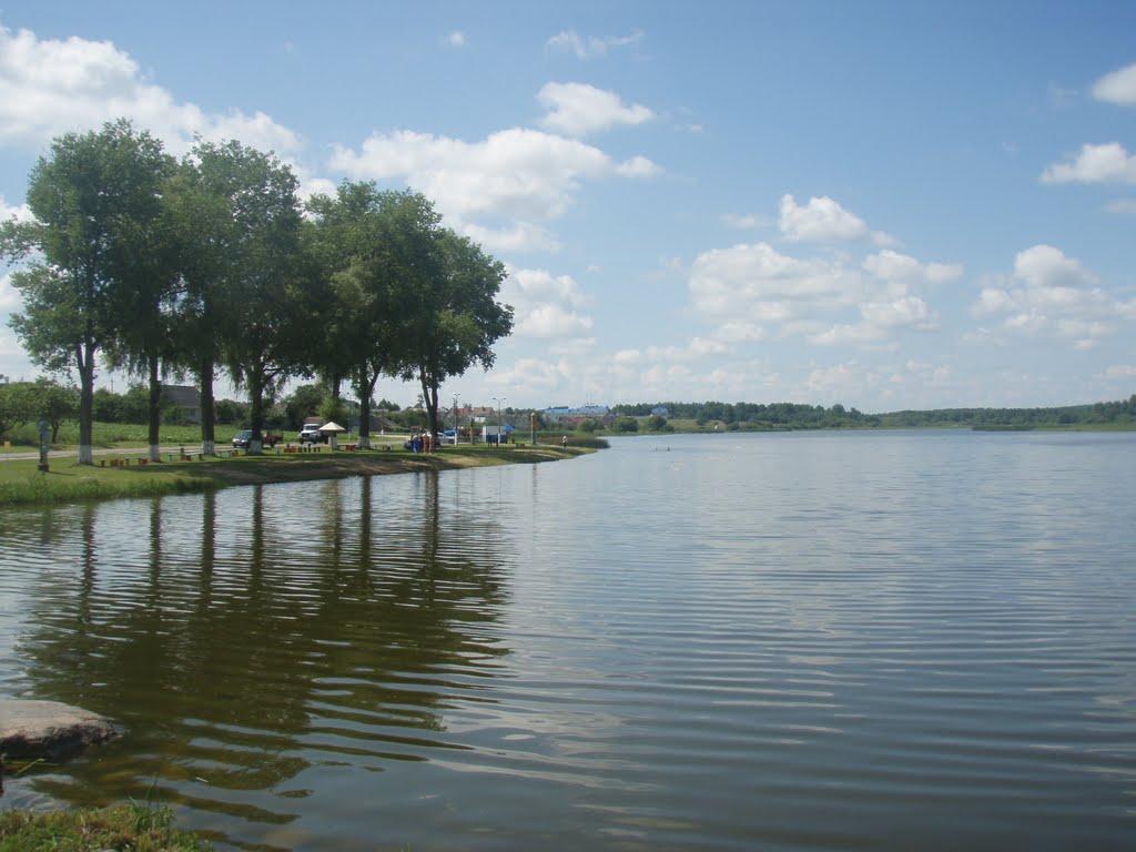 Озеро пляж, Вороново