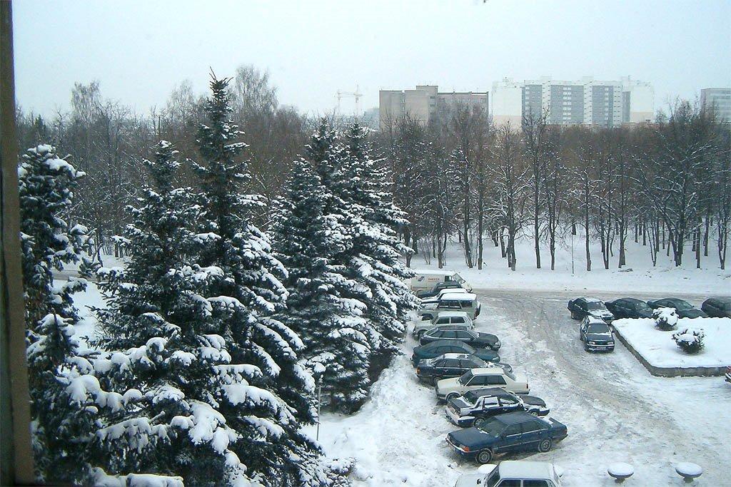 Вид из Аграрного университета, Гродно