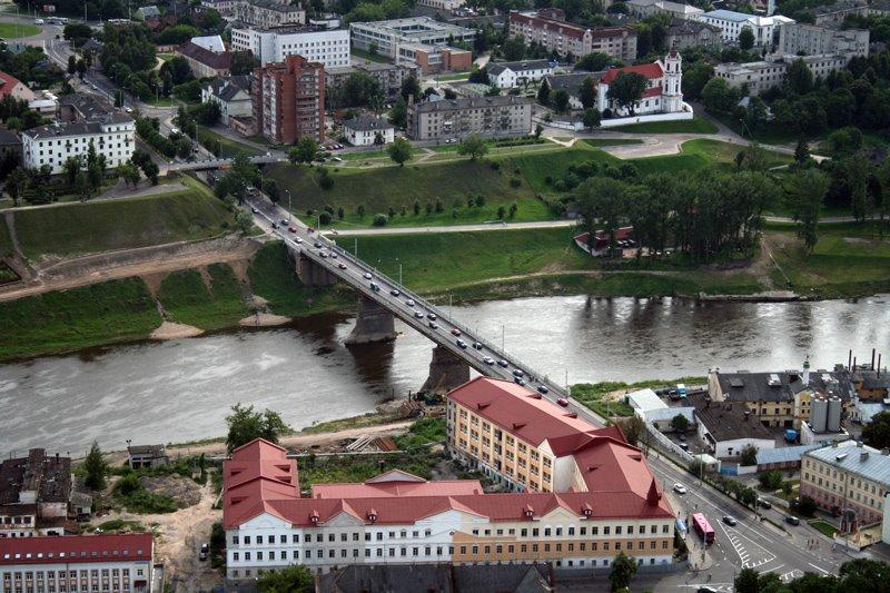 Old bridge, Гродно