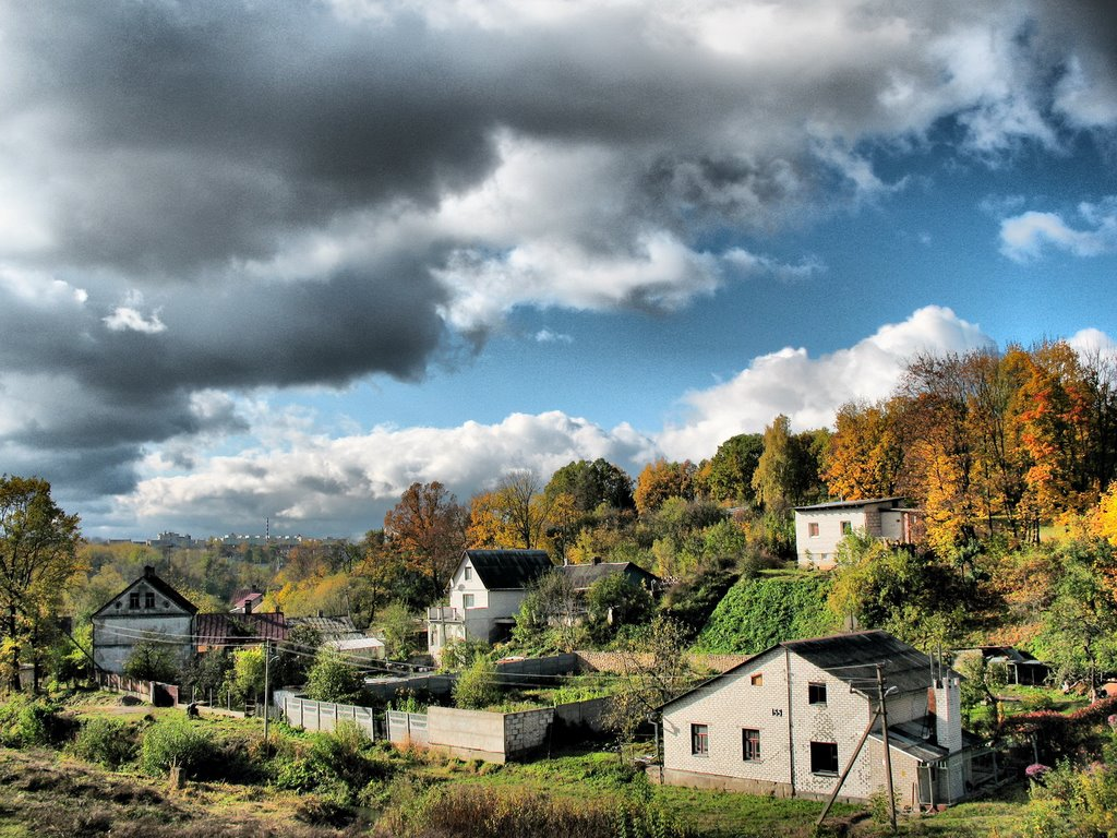 Осень, Гродно