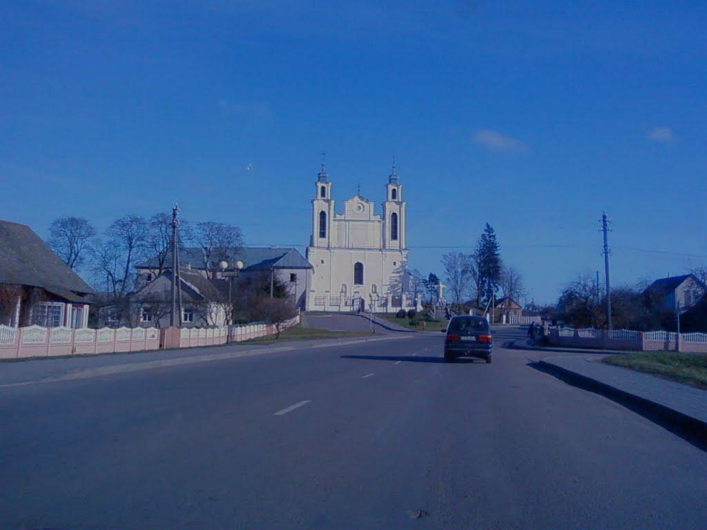 Костел, Ивье