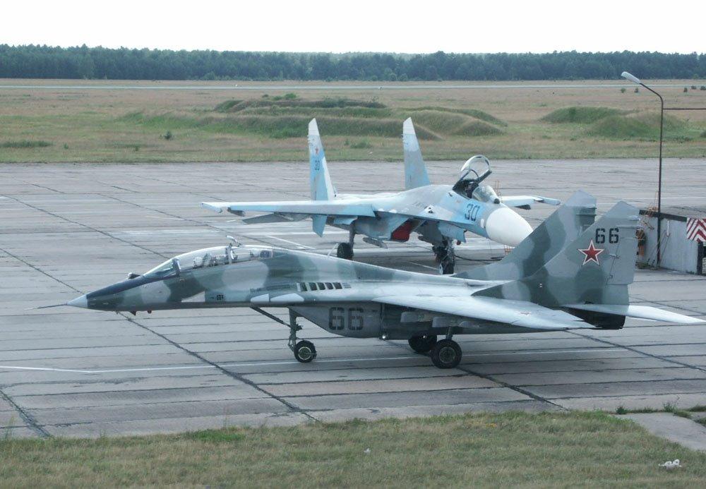 Air base, Baranovichi, Козловщина