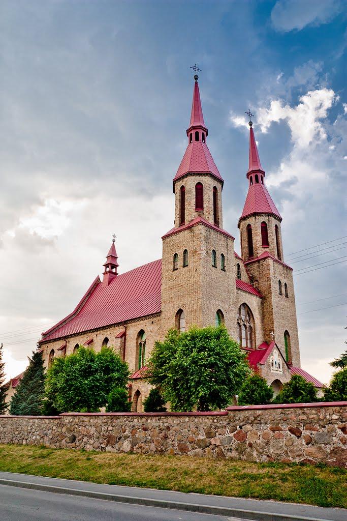 Костёл Святой Троицы. Зельва, Козловщина