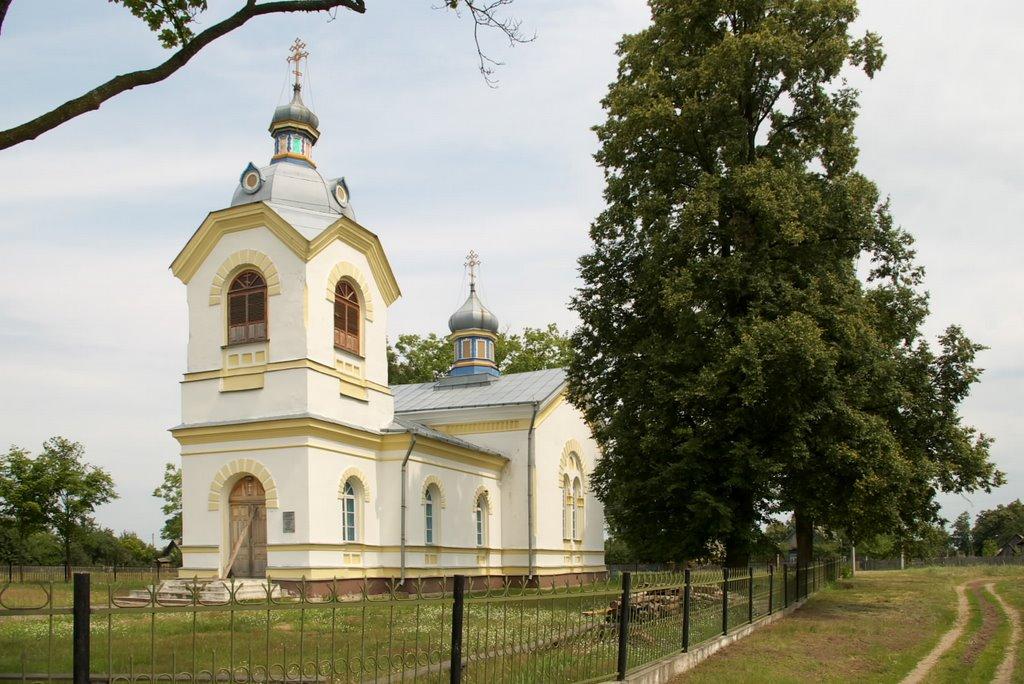 Добромысль, церковь св. Николая, Козловщина