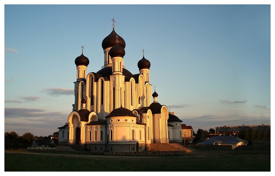 Pravoslavný kostel v Ivatsevichi, Belarus, Козловщина