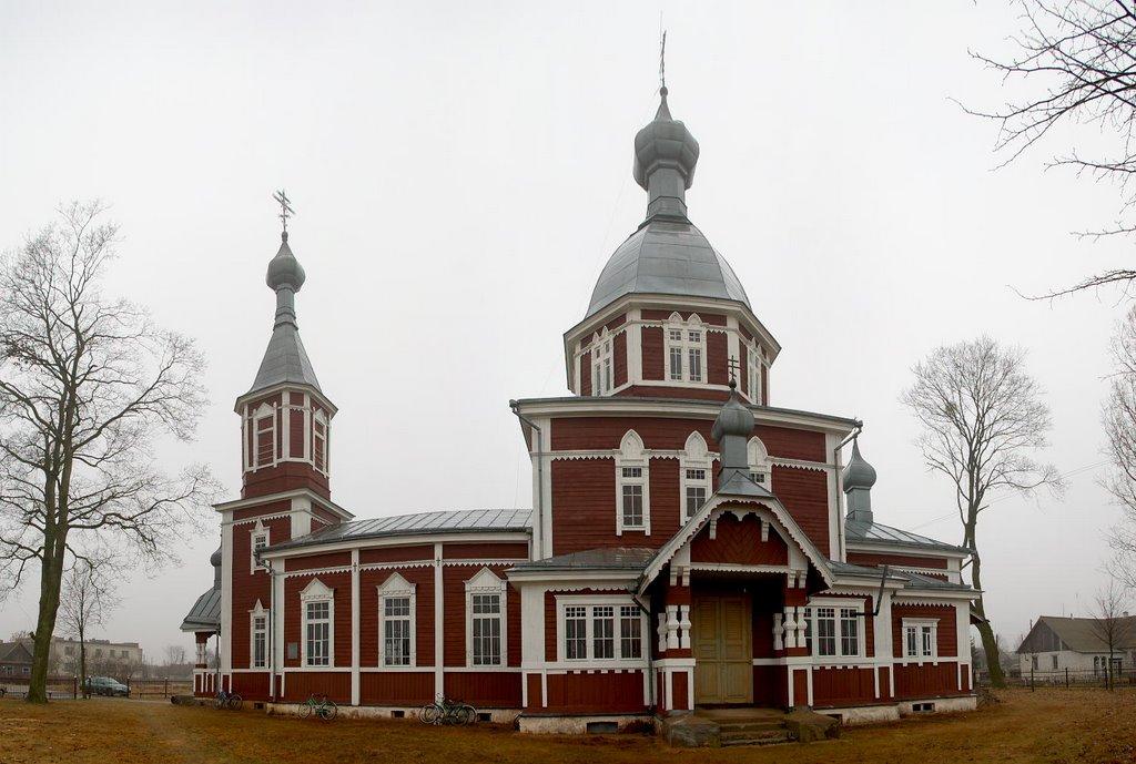Остров, церковь св. Петра и Павла, Козловщина