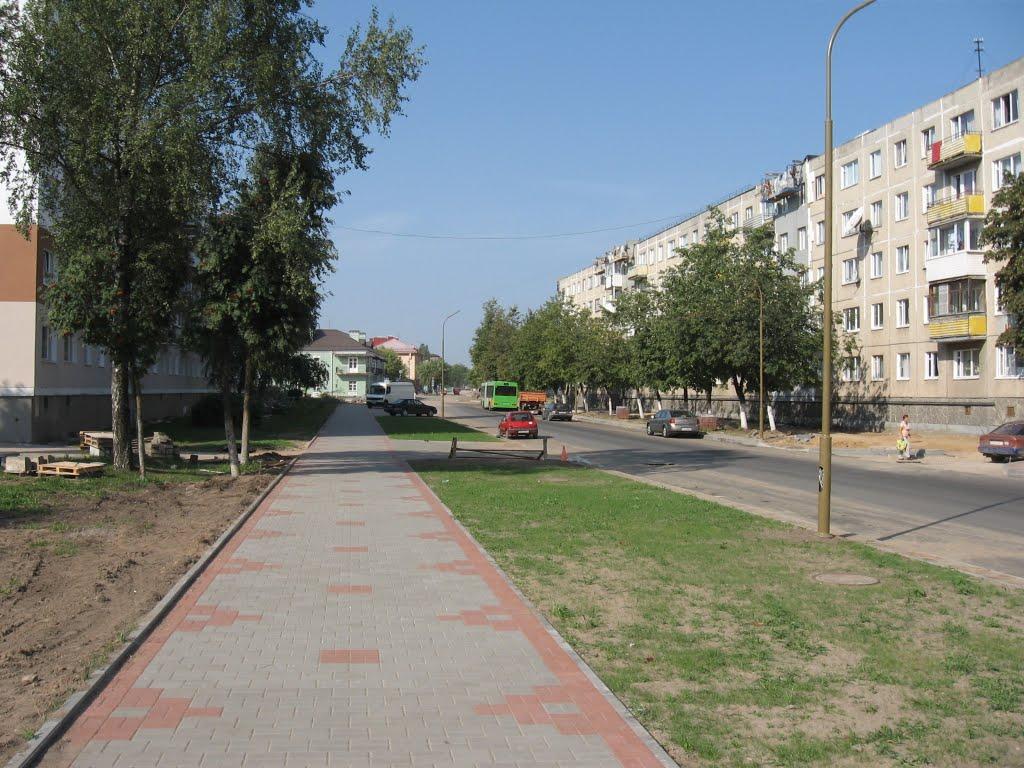 вуліца Міцкевіча ♦ ulica Mickiewicza, Лида