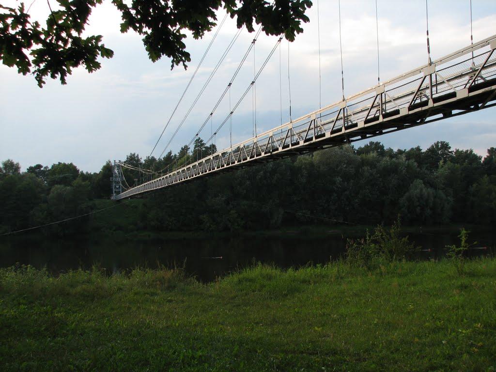 Пешеходный мост через Неман в г. Мосты, Мосты