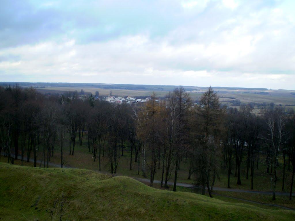 Від з Навагрудскага замка, Новогрудок