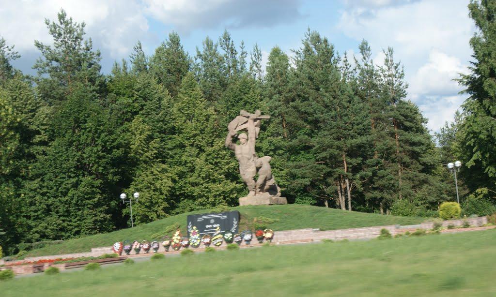 Астравец Памятник, Островец