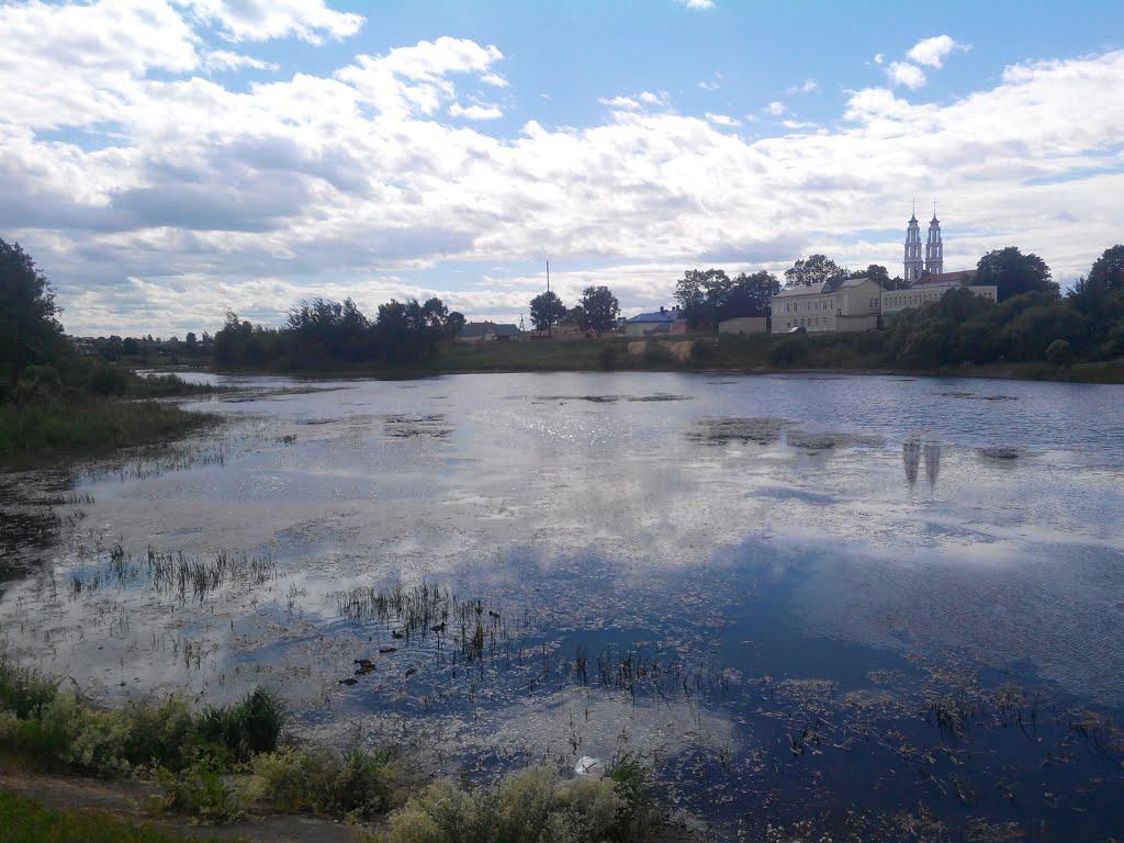 Река Ошмянка, Ошмяны