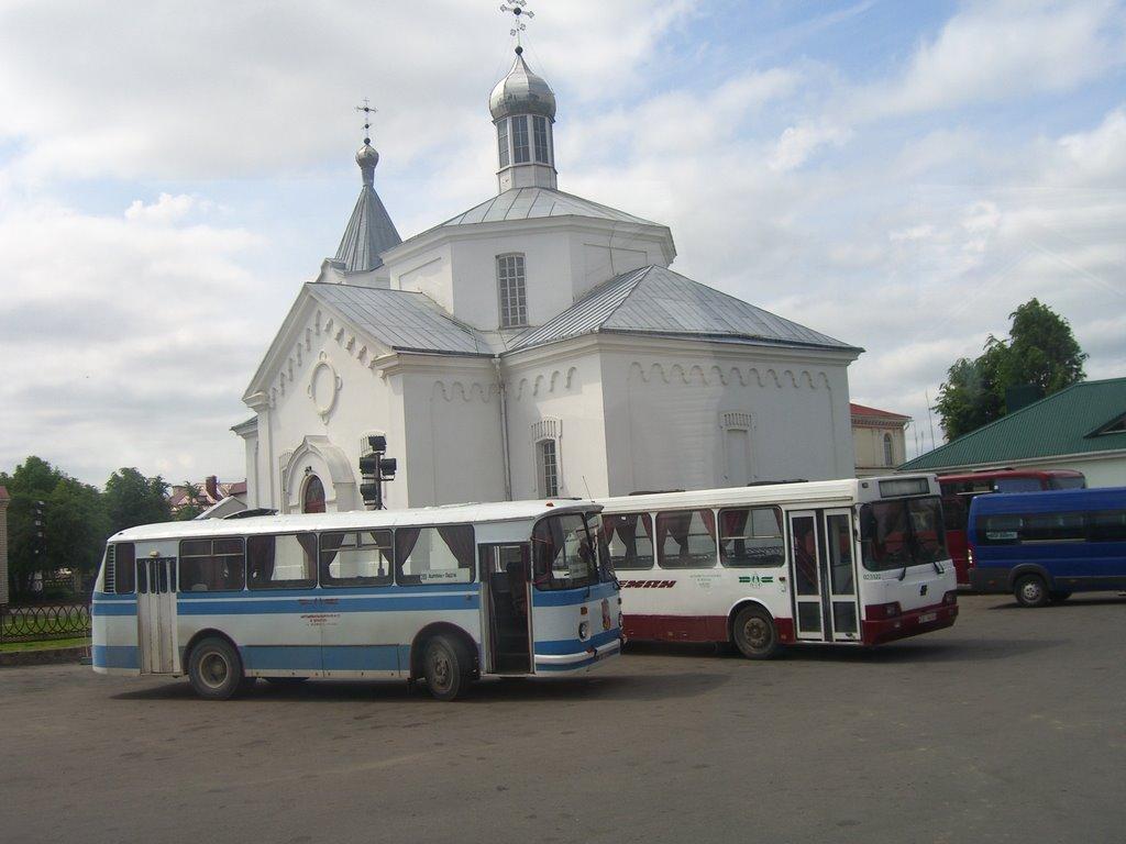 bus station, Ошмяны