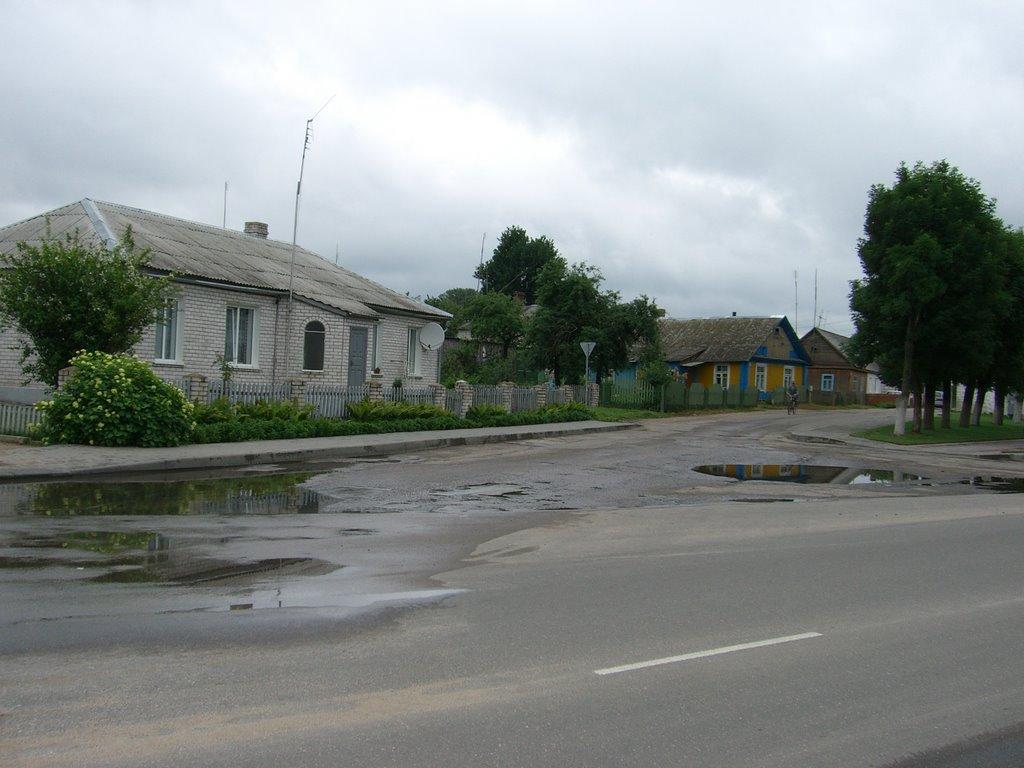 an old st, Ошмяны