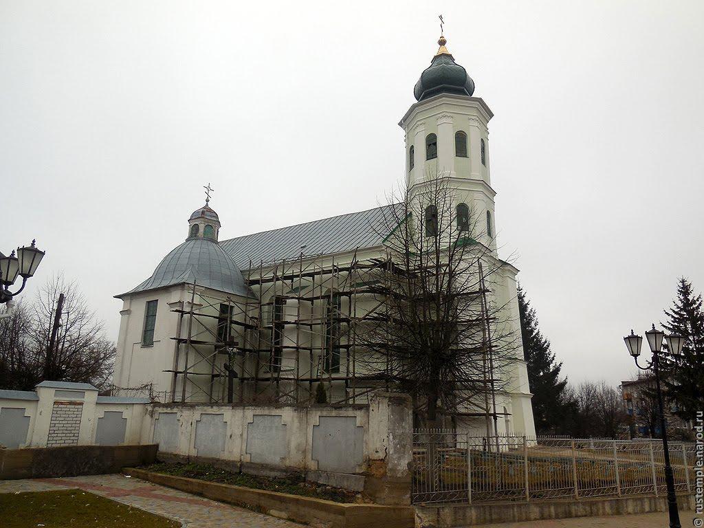 Слоним (Беларусь). Церковь Святой Троицы, Слоним