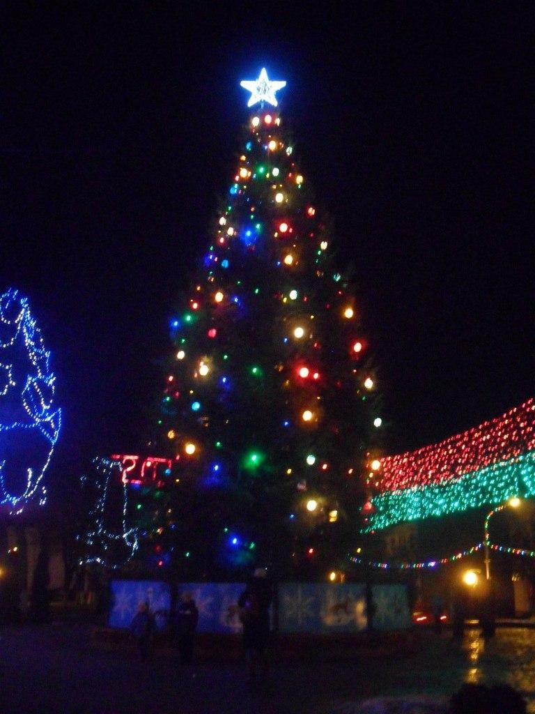 Новый год 2014, Слоним
