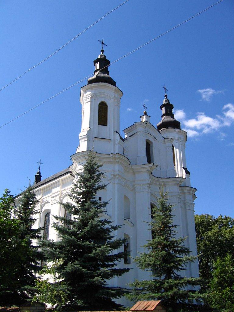 Slonim, Church of St Andrew (1775), Слоним