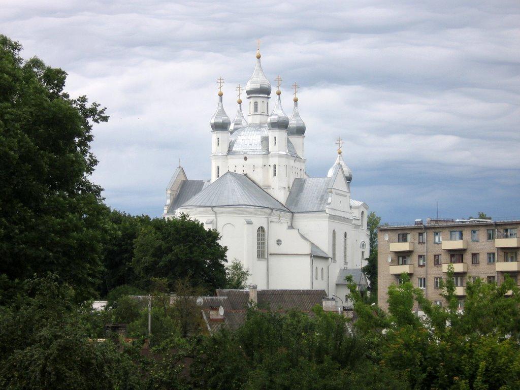 Slonim. Orthodox church., Слоним