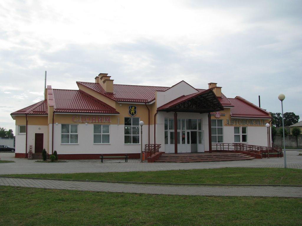 Slonim, Bus Station, Слоним