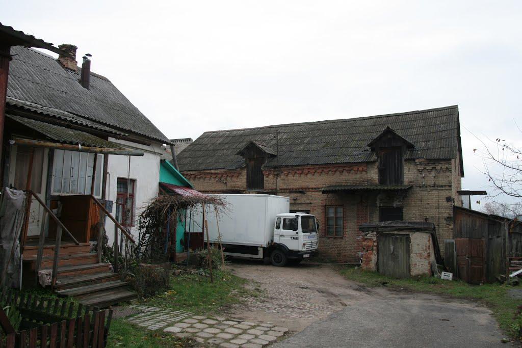 Стары слонiмскi дворык, 3 лiстапада 2012 г., Слоним