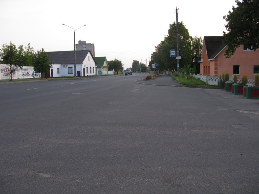 Gagarina-street, Сморгонь