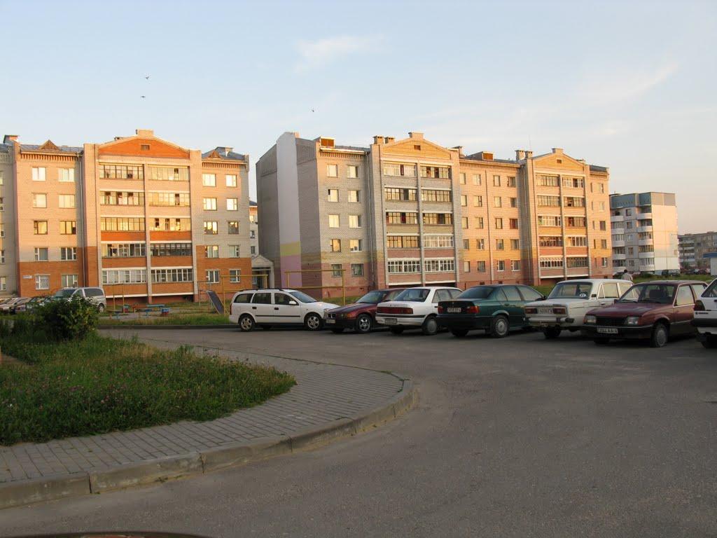 """houses in microdistrict """"Vostochny"""", Сморгонь"""