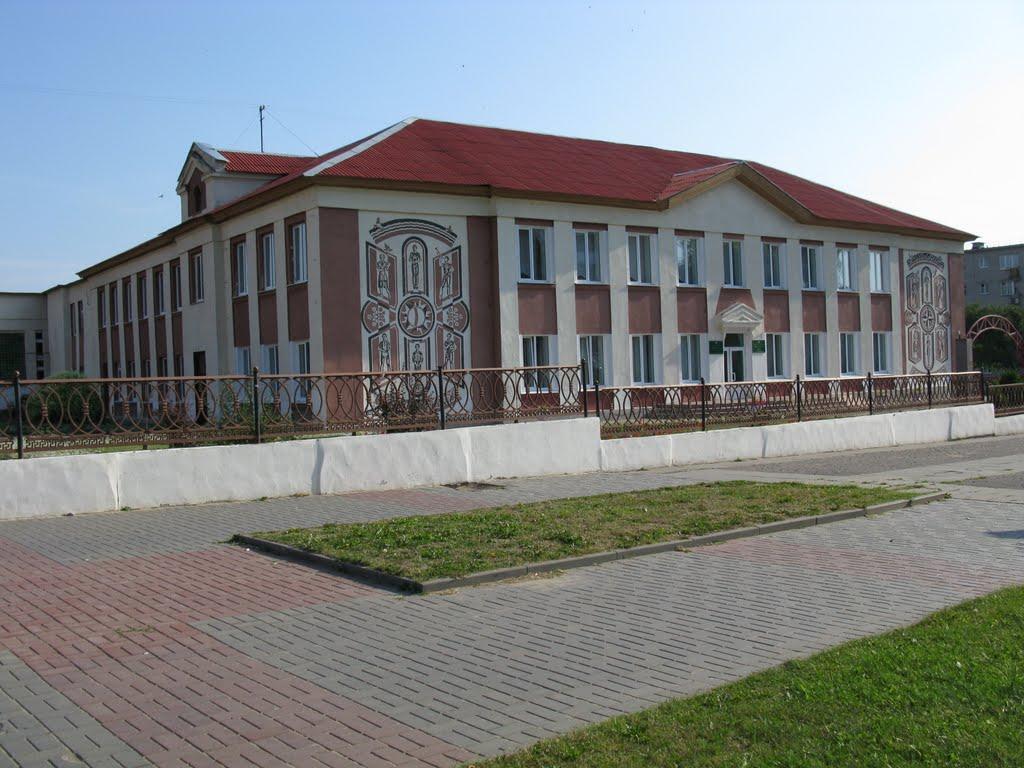 middleschool №1 in the towncenter, Сморгонь