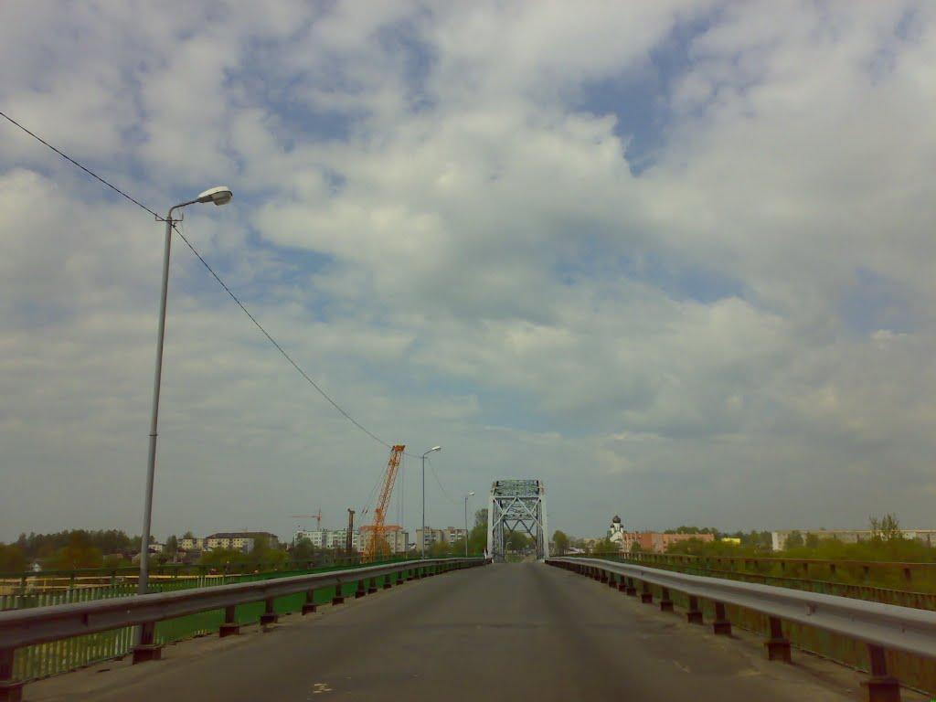 М-4. Старый мост через Березину, Березино