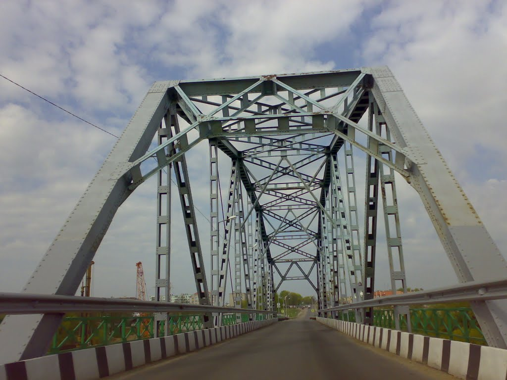М-4 Минск-Могилев. Старый мост через Березину, Березино