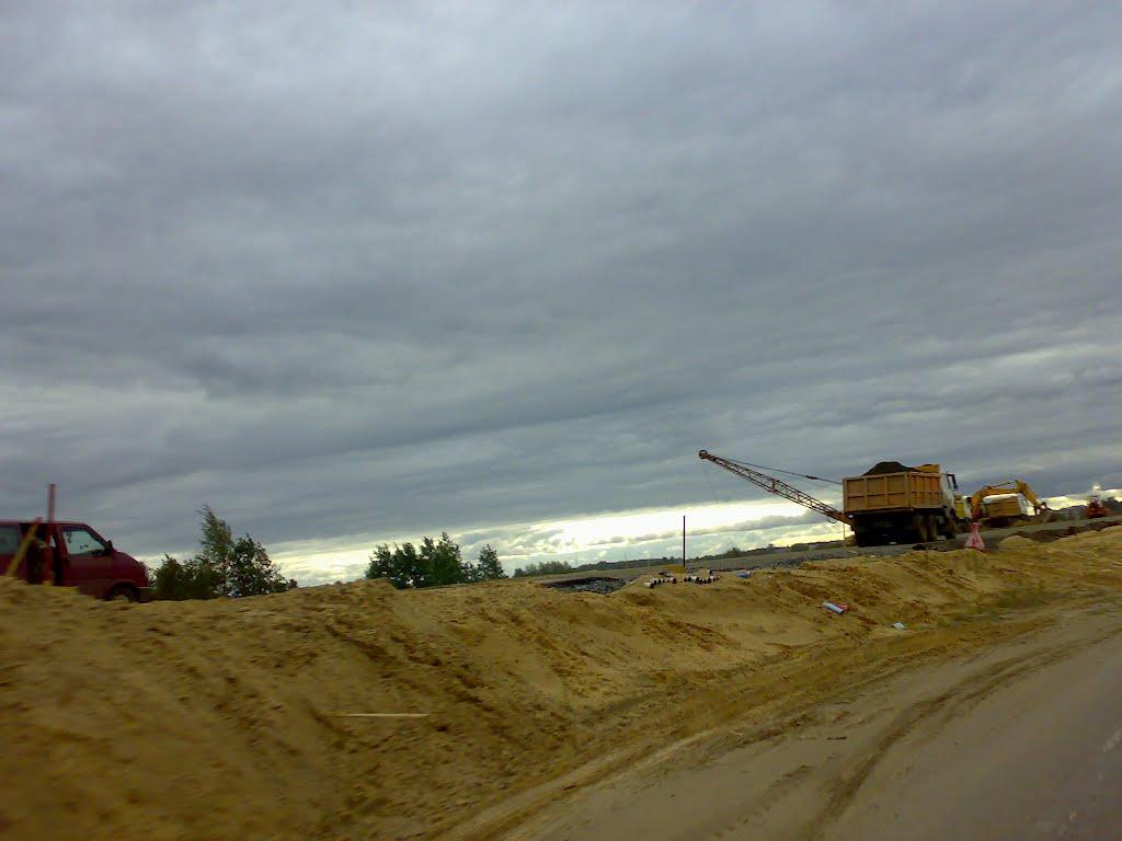 Реконструкция М-4  28/08/2012, Березино