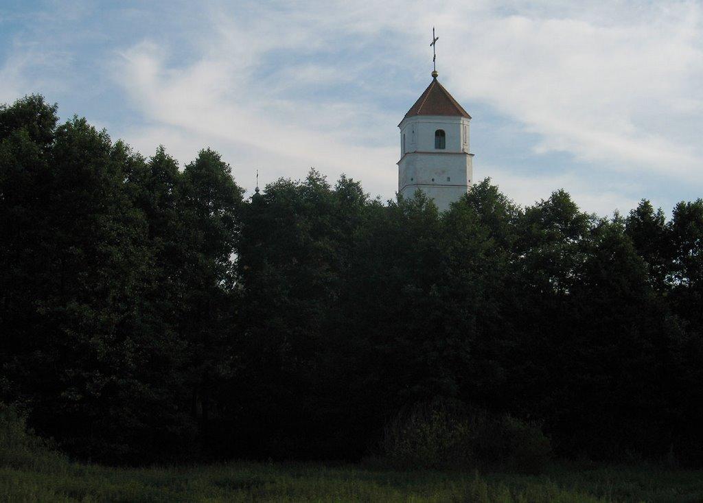 Church of the Transfiguration in Zaslaŭje, Заславль