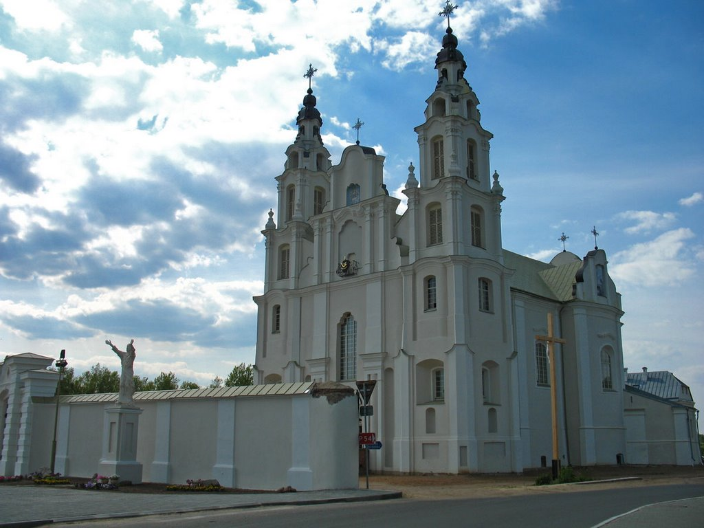 Church of St. Michael the Archangel in Ivianiec, Ивенец