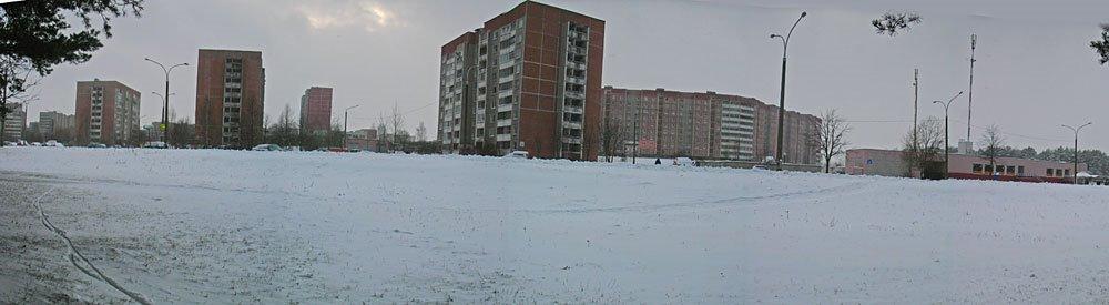 Ilimskaja street in Miensk, Пинск
