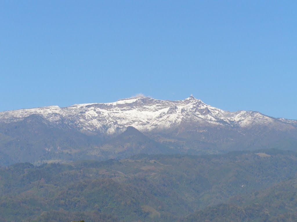 El Nauhcampatépetl desde Coatepec, Коатепек