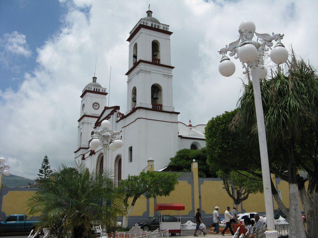Church in San Andrés Tuxtla, Сан-Андрес-Тукстла