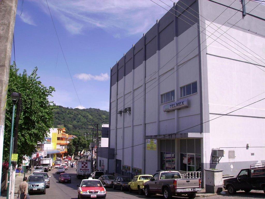 CALLE CARRANZA, EDIFICIO TELMEX, Сан-Андрес-Тукстла