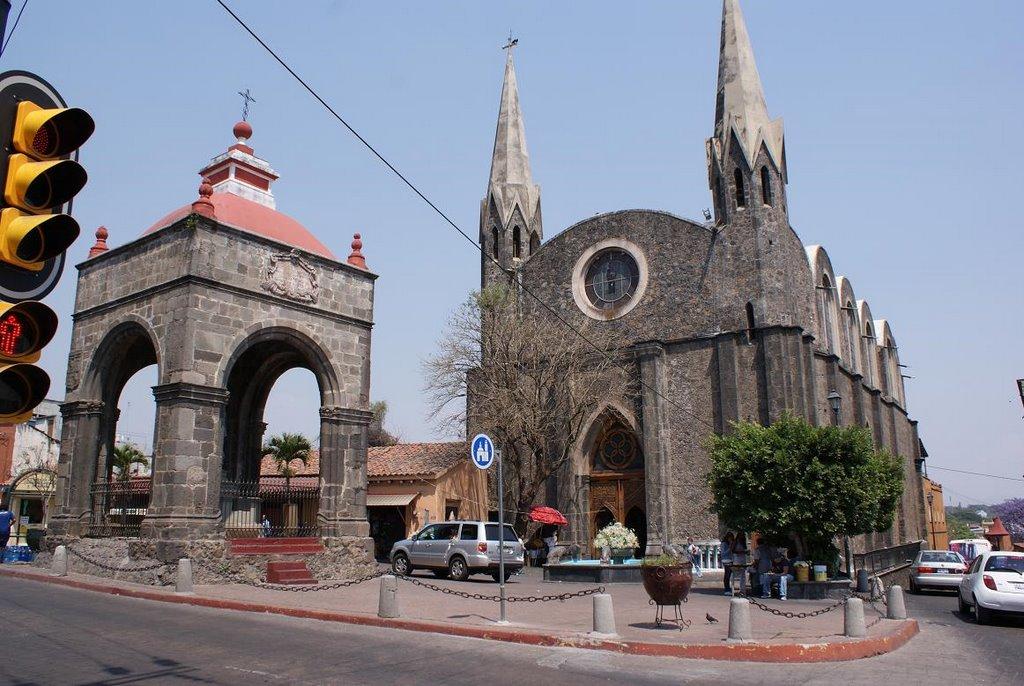 Iglesia del Calvario, Куэрнавака
