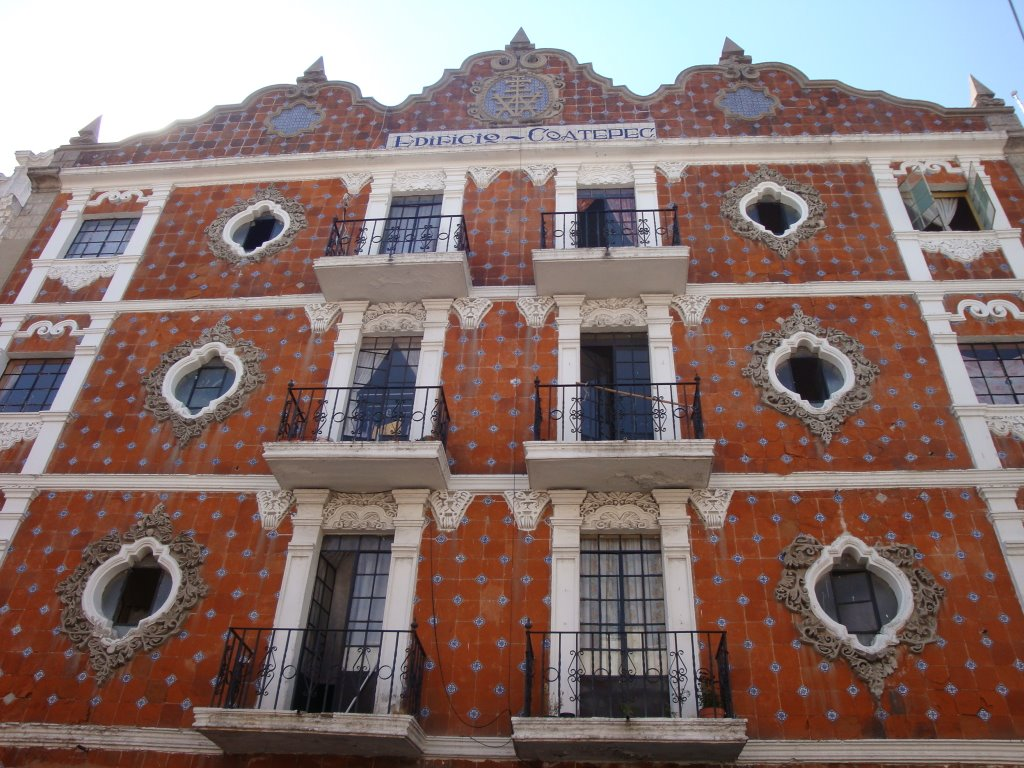Edificio Coatepec en la 6 norte, Пуэбла (де Зарагоза)