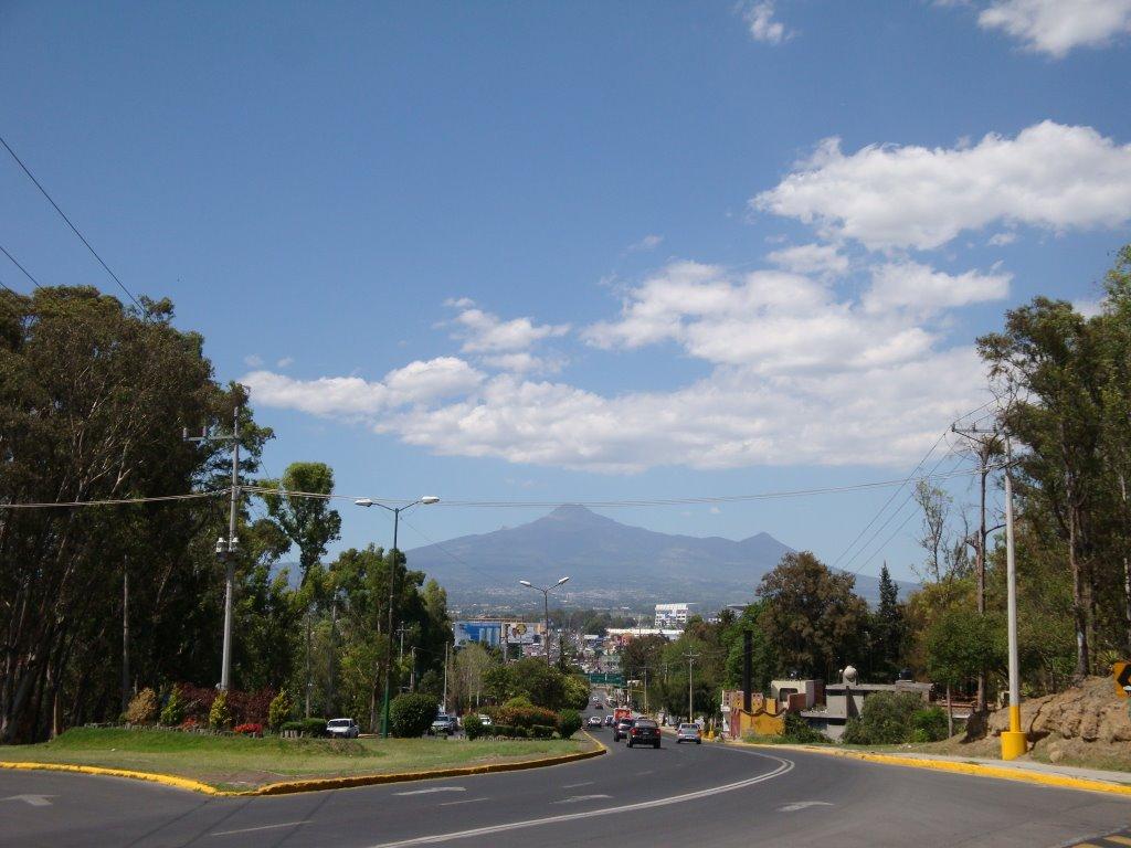 La malinche desde el cerro de Loreto, Пуэбла (де Зарагоза)