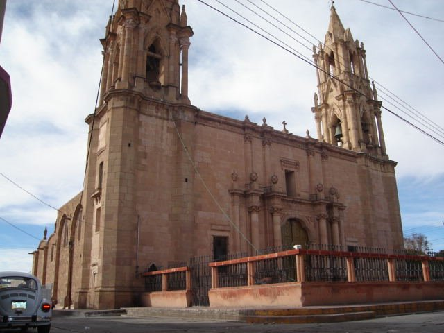 Igesia centro Ojocaliente, Сан-Мигель