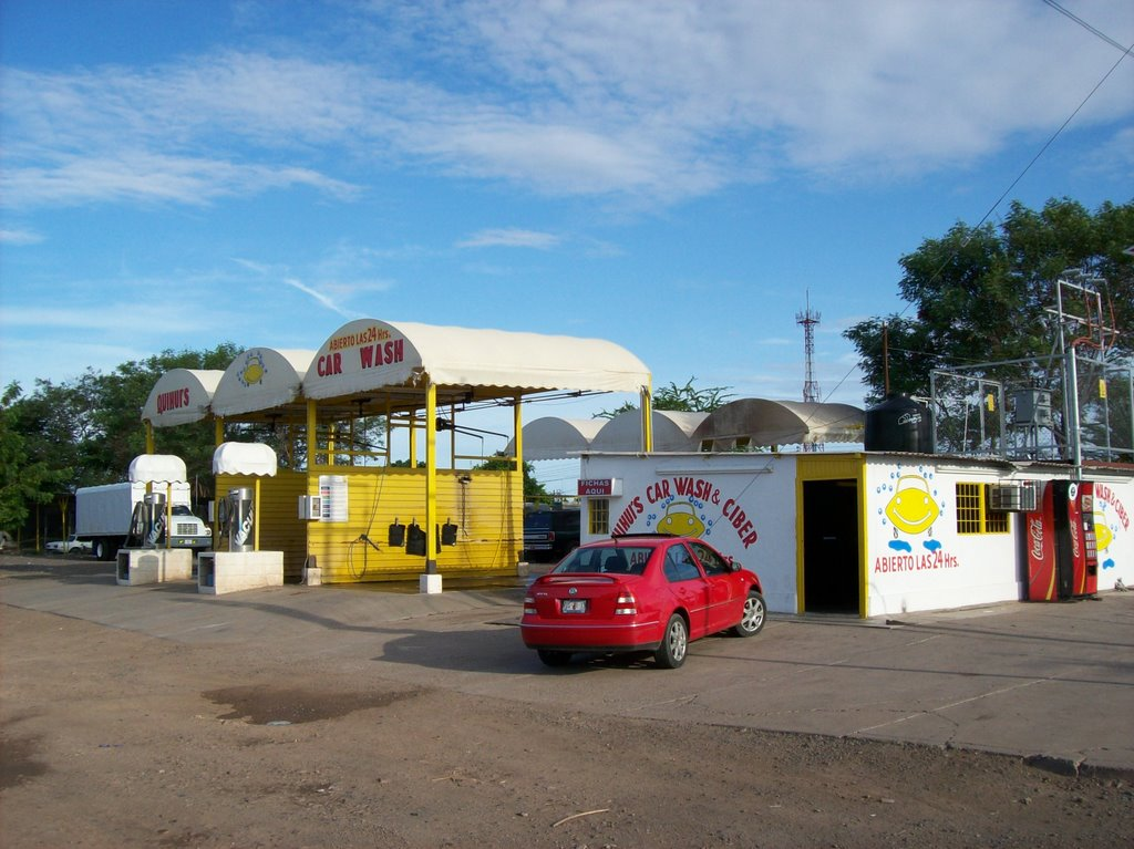 quihui´s carwash and siber, Сьюдад-Обрегон
